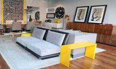 """Destaque tendências da cor amarela no ambiente by Patricia Duarte no blog da Espaço e Forma """"Como usar cores na decoração da sua casa""""(www.espacoeforma.com.br/blog/2015/11/03/como-usar-cores-na-decoracao-de-sua-casa/). #patriciaduarte #espacoeforma #decor #cores #pantone2015e2016 #tendencias #ficaadica #decoraçãonasuacasa"""