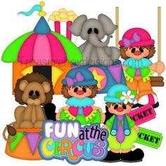 Fun at the Circus - Treasure Box Designs Patterns & Cutting Files (SVG,WPC,GSD,DXF,AI,JPEG)