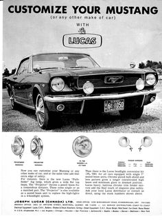1966 /& 2006 FORD MUSTANG HERTZ FASTBACK A3 POSTER AD PRINT SALES CAR BROCHURE