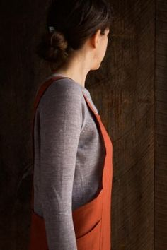 Cross Back Apron | Purl Soho