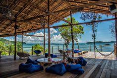 Mad Monkey Backpackers Resort in Koh Rong Samloem, Cambodia