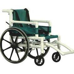 AquaTrek Aquatic Wheel Chair - can use in a pool or shower