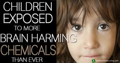 Children being exposed to more brain-harming chemicals than ever