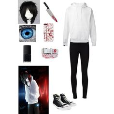 Creepypasta: Jeff the Killer by ender1027 on Polyvore