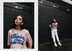 Billionaire Girls Club enlists Vicky Grout to shoot latest collection on the streets of East London Urban Photography, Photography Poses, Street Photography, Lifestyle Photography, Fashion Photography, Fashion Shoot, Editorial Fashion, Fashion Models, Vicky Grout