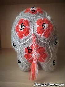 MATIN LUMINEUX: Eléphantes Indiennes au crochet Crochet Elephant Pattern, Crochet Hippo, Crochet Motifs, Crochet Flower Patterns, Crochet Toys Patterns, Amigurumi Patterns, Crochet Flowers, African Flower Crochet Animals, Granny Square