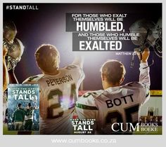 When The Game Stands Tall ~ Every Football Player, Parent And Fan Needs To See This Movie! Football Movies, Football Quotes, Watch Football, Movie Quotes, Funny Quotes, Life Quotes, Tv Quotes, Athlete Quotes, Christian Movies