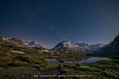 Dents d'Ambin by night by Luca Biolcati Rinaldi on 500px
