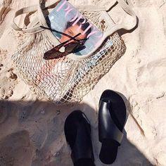 Beach essentials #Regram via @stylebrookekatherine