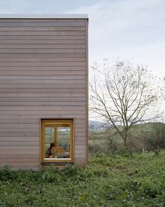 Image 4 of 15 from gallery of Carton LeVert / MacGabhann Architects. Photograph by Ros Kavanagh Tiny House Cabin, Cabin Homes, Building Skin, Wooden Facade, 1950s Design, Scandinavian Interior, Urban Design, Architecture Details, Future House