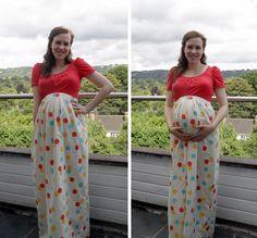 Maternity maxi skirt 4