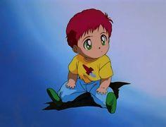 Kurama as a toddler.