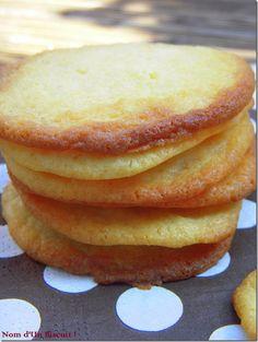Biscuits Lait Concentré sucré - nomdunbiscuit.com #glutenfree