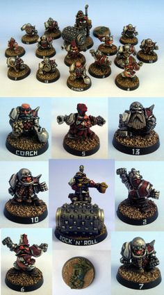 Dwarf Blood Bowl team