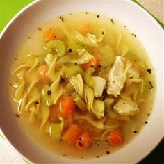 """Quick and Easy Chicken Noodle Soup 