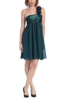 Short bridesmaid dresses ♥ green