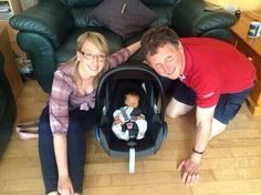 Aofie, Theo and Bobby, lovely family pic