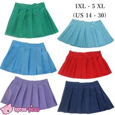 Sailor Seifuku Uniform Pleated Skirt