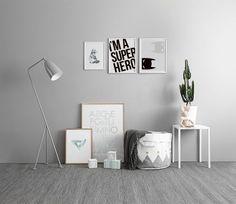 Inspiratie voor de kinderkamer. Babykamer. Kinderkamer. Inspiratie & shoptips. Posters. www.desenio.nl