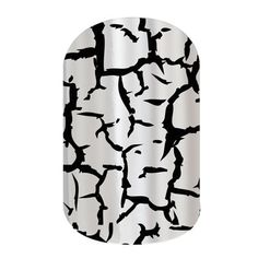Jamberry Nail Wraps - These Metallic Crackle nails are so cool!  Lasts up to 2 weeks on fingers without chipping and up to 6 weeks on toes!  vinylnails.com