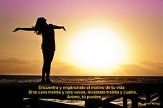 Busca un buen motivo y enganchate a disfrutar la vida...
