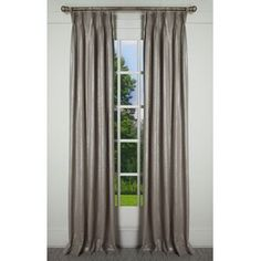 House of Hampton Scholten Solid Room Darkening 100% Cotton Pinch Pleat Curtains & Reviews | Wayfair Pinch Pleat Curtains, Tab Top Curtains, Pleated Curtains, Grommet Curtains, Panel Curtains, Silk Curtains, Animal Print Rooms, Striped Room, Drapery Panels