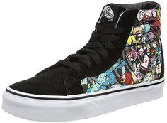 Black Sneakers, High Top Sneakers, High Heels, Shoes Sneakers, Wide Shoes, Top Shoes, Van Trainers, Disney Vans, Skate Shoes