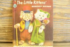 Rand McNally Book Little kittens Nursery by VickiesBeachHouse, $18.00