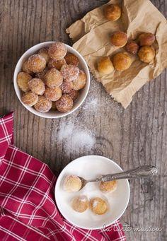 Castagnole con la crema diffuse in tutta Italia    Ricette e piatti tipici del Carnevale