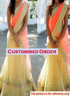 ✔ Indian Women Clothing Bollywood Replica Lehenga Choli Dress Chaniya Choli   eBay