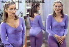 Maureen McCormick (Marcia Brady) in The Brady Brides Classic Actresses, Beautiful Actresses, Actors & Actresses, Marsha Brady, Debbie Osmond, Maureen Mccormick, Purple Tights, 80 Tv Shows, The Brady Bunch
