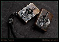 Steel Flame - Zippo - Guardian - Trit