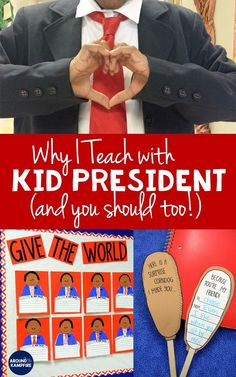 Do you use Kid President videos in your classroom? If not, you should! Read these 10 reasons I teach with Kid President videos and I think you'll agree! #kidpresident #quotes #activities #kindness