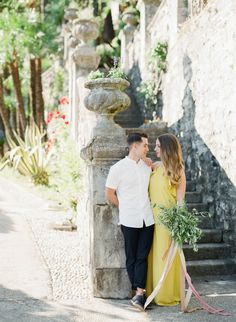 Beautiful anniversary shoot: http://www.stylemepretty.com/little-black-book-blog/2016/09/19/lake-como-anniversary-session/ Photography: Sophie Epton - http://www.sophieepton.com/