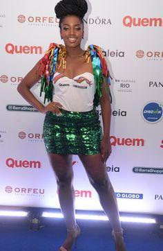 """A cantora Iza, dona do hit """"Quem sabe sou eu"""" (Foto: Revista Quem)"""