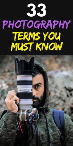 33 Photography Terms You Must Know & Lingo Explained! 33 Photography Terms You Must Know & Lingo Explained! The post 33 Photography Terms You Must Know & Lingo Explained! & coolies appeared first on Photography . Smoke Bomb Photography, Dslr Photography Tips, Self Portrait Photography, Photography Challenge, Photography Tips For Beginners, Photography Lessons, Photography Tutorials, Digital Photography, Amazing Photography