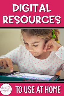 FREE Digital Resources to Use at Home | Sweet Integrations Back To School Activities, Stem Activities, Engage In Learning, Science Games, Project Based Learning, Fifth Grade, Elementary Teacher, Teacher Resources, Middle School