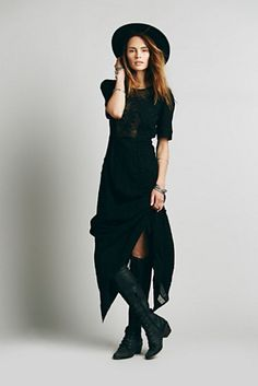 607f62520d0 Free People Say You Love Me Maxi Novo Look