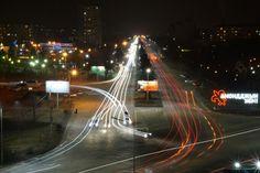 Владикавказ ночью