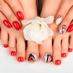 Abstract Manicure And Pedicure Is Always A Good Idea ❤ Learn How To Do Manicure And Pedicure In No Time ❤ See more ideas on our blog!! #naildesignsjournal #nails #nailart #naildesigns #toes #toenails #manicureandpedicure #pedicure How To Do Manicure, Manicure And Pedicure, Pretty Nail Designs, Toe Nail Designs, Toenails, Beauty Routines, Looking Gorgeous, Pretty Nails, Nail Ideas