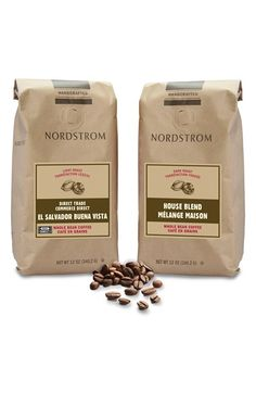 Nordstrom Coffee Direct Trade/Organic El Salvador Buena Vista & House Blend Whole Bean Coffee (2-Pack)