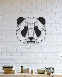 Panda Metal Tablo - Panda