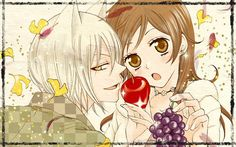 Tomoe and Nanami~Fruit for you