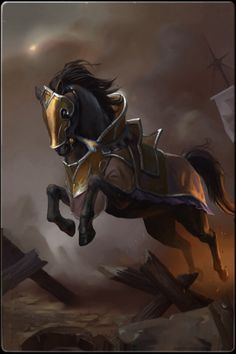 Armored Horse