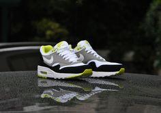 Nike Air Max 1 Essential - Medium Grey & White| NikeAirMax1.com