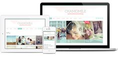 Chamomile WordPress Theme - Responsive