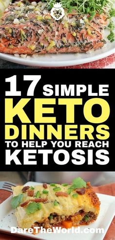 """When you hear the word """"diet"""" you probably think your food options are highly limited. Not with the ketogenic diet. Here are 17 keto dinners that will help you reach ketosis and show how diverse the diet is."""