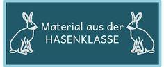 Hasenklasse: Material aus der Hasenklasse
