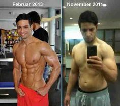 Before & After Bodybuilding and Fitness Transformation