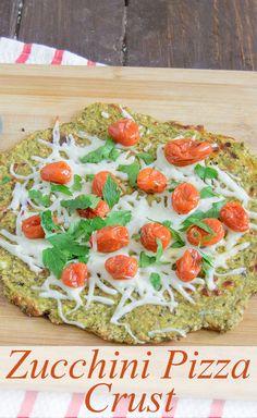 Zucchini Pizza | www.PancakeWarriors.com